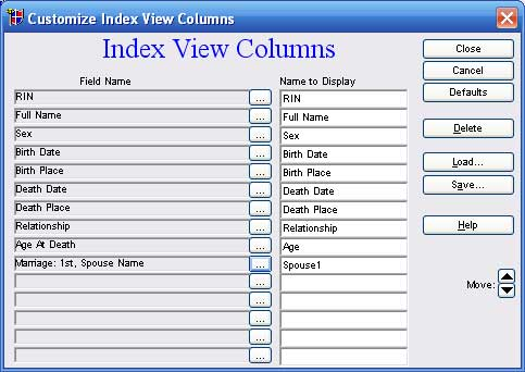 Indexview